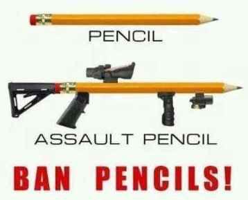 Assault Pencil