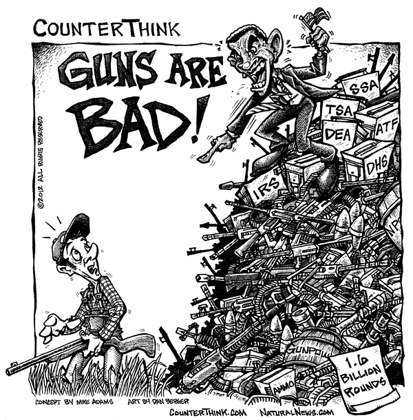 Cartoon - Guns-Are-Bad