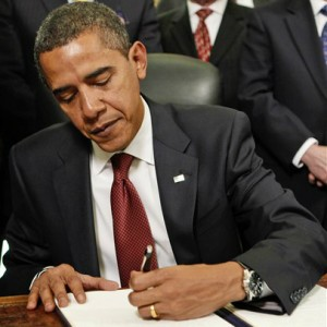President Obama Signing Executive Orders