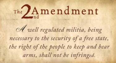 Text of Second Amendment