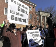 It's about control. not guns.